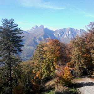 Colori e panorami d'autunno