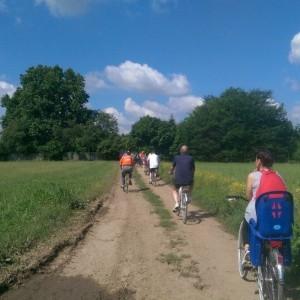 Eliante in bici