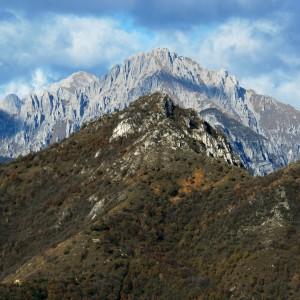 Vista sul Monte Barro